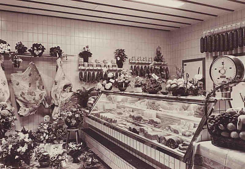 1900 - Eerste slagerijen